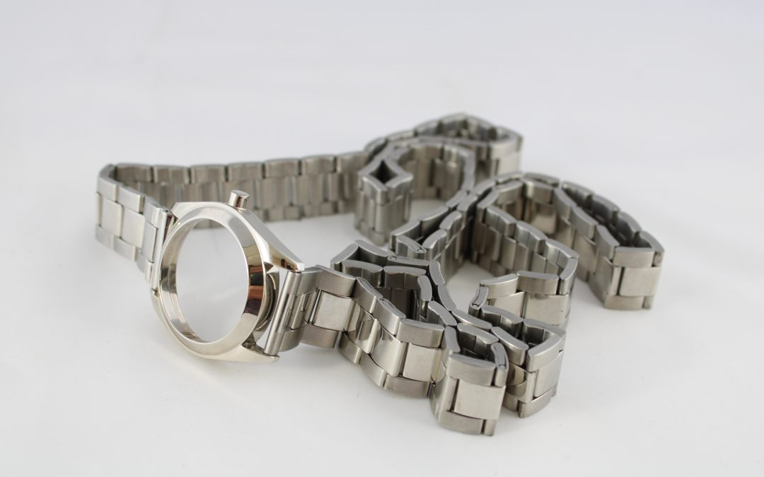 Maison Margiela steel watch belt